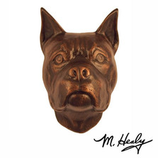 Boxer Dog Aluminum Door Knocker | MHCDOG03 | Michael Healy