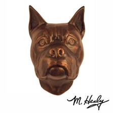 Boxer Dog Aluminum Door Knocker | MHCDOG03 | Michael Healy