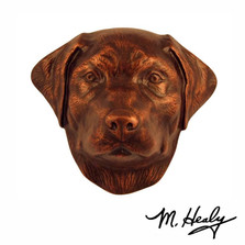 Labrador Dog Aluminum Door Knocker | MHCDOG01 | Michael Healy