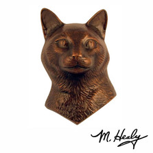 Cat  Aluminum Door Knocker | MHCCAT01 | Michael Healy