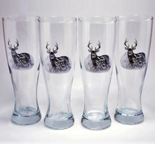 Deer Pilsner Glass Set | Richard Bishop | 2041DEE