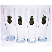 Pineapple Pilsner Glass Set | Richard Bishop | 2041PIN