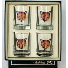 Fox Double Old Fashioned Glass Set | Fox Mask | Richard Bishop | 2026FOX