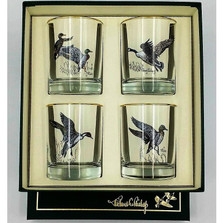 Duck Double Old Fashioned Glass Set | Waterfowl | Richard Bishop | 2026WAT