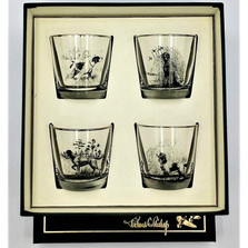 Dog Cocktail Glass Set | Sporting Dogs | Richard Bishop | 2025SPO