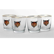 Fox Cocktail Glass Set | Fox Mask | Richard Bishop | 2025FOX