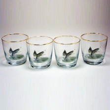 Trout Fish Cocktail Glass Set | Richard Bishop | 2025TRO