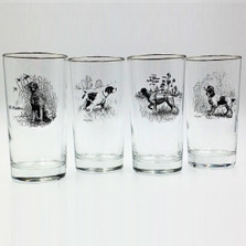 Dog Iced Tea Glass Set | Sporting Dogs | Richard Bishop | 2020SPO