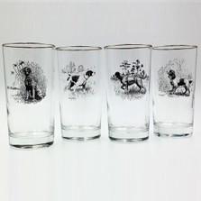 Dog Iced Tea Glass Set | Sporting Dogs | Richard Bishop | 2020SPO