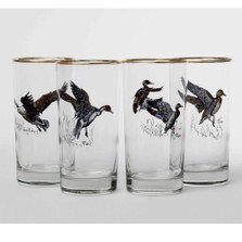 Duck Iced Tea Glass Set | Waterfowl | Richard Bishop | 2020WAT