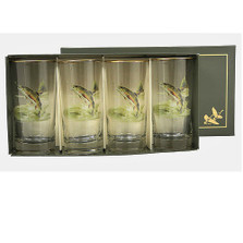Trout Fish Iced Tea Glass Set | Richard Bishop | 2020TRO