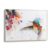 Hummingbird Canvas Wall Art | Jewel | 3005050838