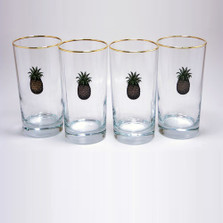 Pineapple Iced Tea Glass Set | Richard Bishop | 2020PIN