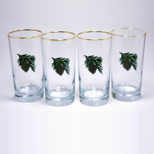 Pine Cone Iced Tea Glass Set | Richard Bishop | 2020PCO