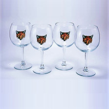 "Fox Wine Glass Set | ""Fox Mask"" 