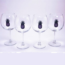 Pineapple Wine Glass Set | Richard Bishop | 2045PIN
