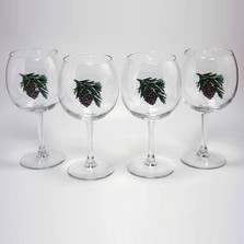 Pine Cone Wine Glass Set | Richard Bishop | 2045PCO