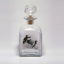 "Mallard Duck Decanter | ""Waterfowl"" 