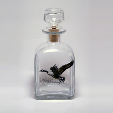 "Canada Goose Decanter | ""Waterfowl"" 