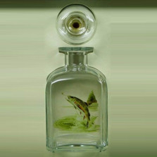 Trout Fish Decanter | Richard Bishop | 2061TRO
