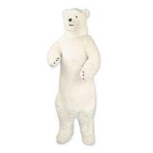 Standing Polar Bear Smiling Plush Stuffed Animal | Ditz Designs | DIT75037
