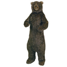 Standing Grizzly Bear Smiling Plush Stuffed Animal | Ditz Designs | DIT75058