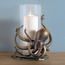 Octopus Hurricane Candle Holder | 34632 | SPI Home