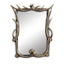 Faux-Antler Wall Mirror | 34668 | SPI Home