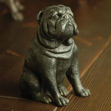 Stern Bulldog Figurine |  55068 |SPI Home