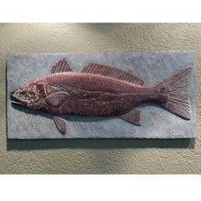Redfish Bas Relief Ltd Edition Wall Art | Rod Zullo