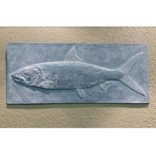 Bonefish Bas Relief Ltd Edition Wall Art | Rod Zullo