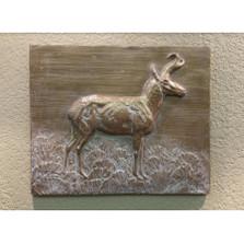 Pronghorn Bas Relief Ltd Edition Wall Art | Rod Zullo