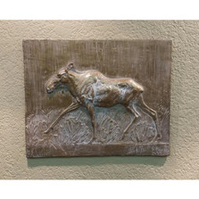 Moose Bas Relief Ltd Edition Wall Art | Rod Zullo