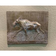 Moose Bas Relief Ltd Edition Wall Art | Rod Zullo
