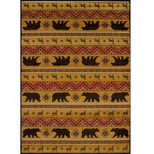 Nordic Bear Area Rug | United Weavers | UW750-03353