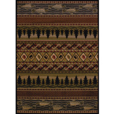 Fish Pine Area Rug River Ridge | United Weavers | UW750-03943