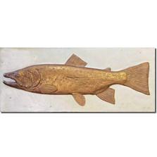 Brown Trout Bas Relief Ltd Edition Wall Art   Rod Zullo