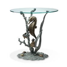 Seahorse End Table | 33786 | SPI Home