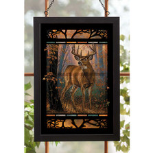 Whitetail Deer Stained Glass Art | Wild Wings | 5386498025