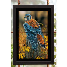 Kestrel Falcon Stained Glass Art | Wild Wings | 5386498024