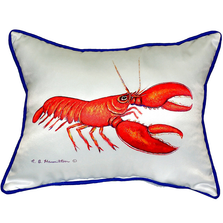 Red Lobster Indoor Outdoor Pillow 20x24 | Betsy Drake | BDZP081R