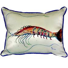 Shrimp Indoor Outdoor Pillow 20x24 | Betsy Drake | BDZP395