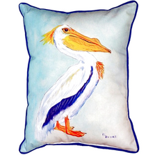 King Pelican Indoor Outdoor Pillow 20x24 | Betsy Drake | BDZP177