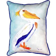 King Pelican Indoor Outdoor Pillow 20x24 | Betsy Drake | BDZP177