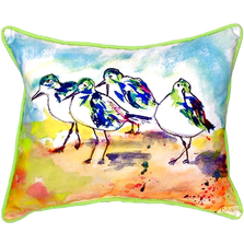 Sanderling Indoor Outdoor Pillow 20x24 | Betsy Drake | BDZP417