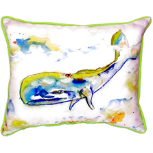 Whale Indoor Outdoor Pillow 20x24 | Betsy Drake | BDZP420