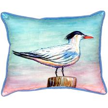 Royal Tern Indoor Outdoor Pillow 20x24 | Betsy Drake | BDZP951