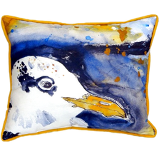 Seagull Portrait Right Indoor Outdoor Pillow 20x24 | Betsy Drake | BDZP293