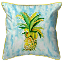 Pineapple Indoor Outdoor Pillow 22x22 | Betsy Drake | BDZP400