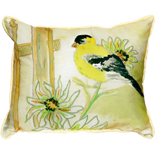 Goldfinch Indoor Outdoor Pillow 20x24 | Betsy Drake | BDZP244